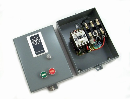 509 tad 1 allen bradley magnetic starter. Black Bedroom Furniture Sets. Home Design Ideas