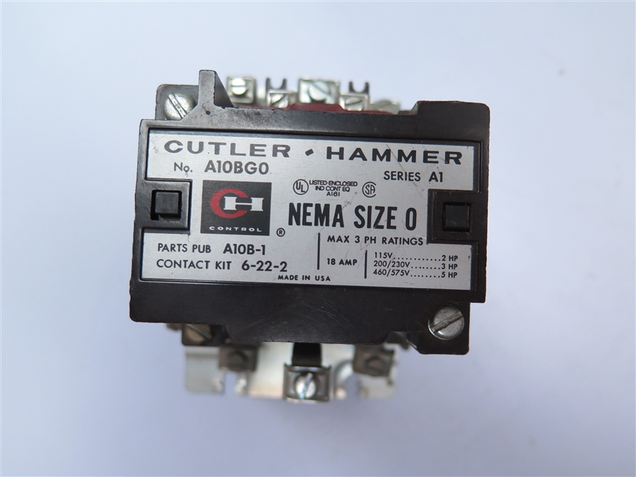 A10bgo Cutler Hammer: Cutler Hammer A10bgo Wiring Diagram At Imakadima.org