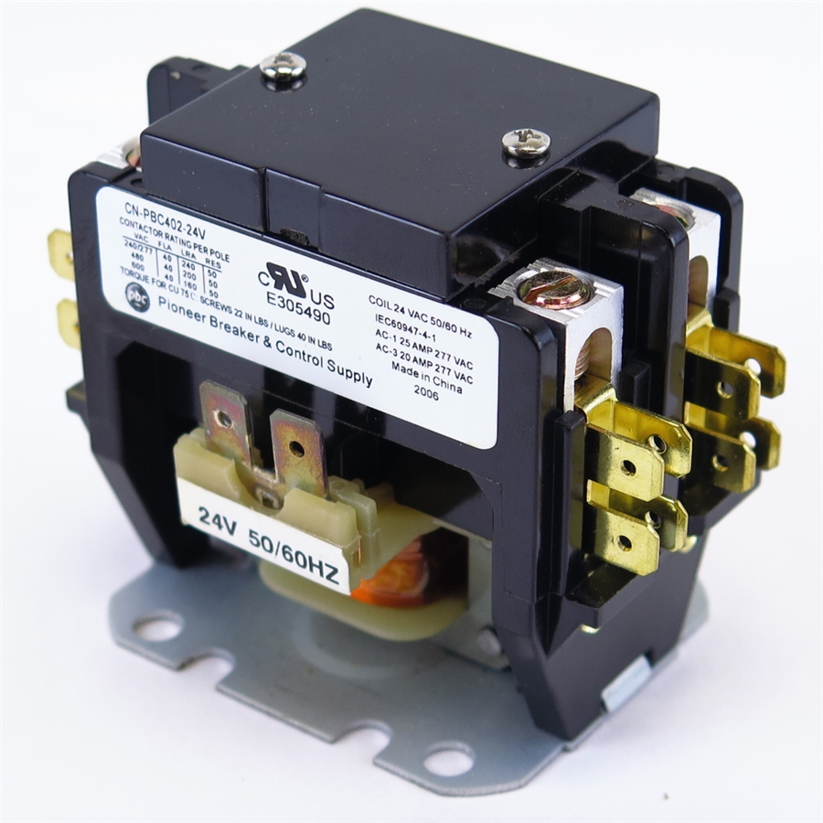 CN PBC402 120V 2?1460633537 yc cn402 2 cn pbc402 120v definite purpose contactor furnas definite purpose control wiring diagram at cos-gaming.co