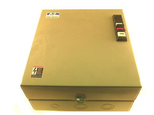 ECL03C1A9A Cutler Hammer CUTLER HAMMER 9 POLE CN35DN2 30AMP 120V AC COIL  NEMA 1 ENCLOSURE LIGHTING CONTACTORPioneer Breaker