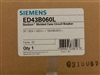 ED43B060 SIEMENS (NEW SURPLUS) CIRCUIT BREAKER