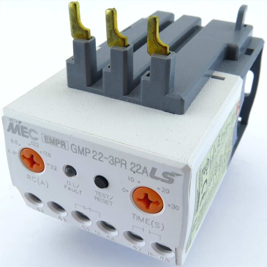 Gmp22 3pr 5a Lg Meta Mec Ls Metasol Overload Relay Abb Solid State