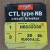 NB232030 FPE CIRCUIT BREAKER FITS NB3P30
