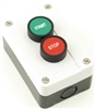 PB-MOM-E2GR22 START STOP PUSHBUTTON STATION GREEN / RED
