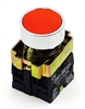 PBC-P22XTMO3-FR DIRECT REPLACEMENT FITS TELEMECANIQUE RED PUSH BUTTON MOMENTARY METAL 1NC ZB2BE102 CONTACT BLOCK .