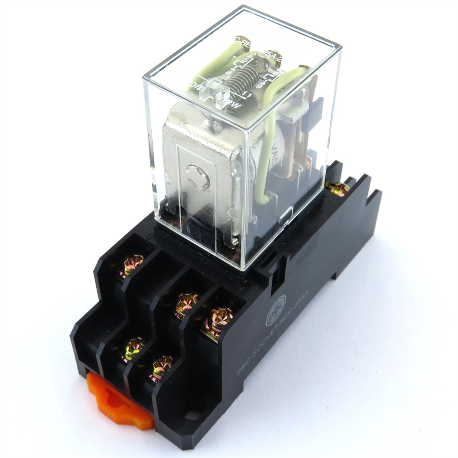 PBC-REC-3P5A-24DC/SOCKET ICE CUBE GENERAL PURPOSE RELAY DRY CIRCUIT on ice cube relays 24vac, ice cube relays 120v, ice cube relays manufacturers, ice cube relays understanding, spst relay 24v,