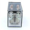 PBC-REM-1P16A-120VAC ICE CUBE GENERAL PURPOSE RELAY MINIATURE SQUARE BASE 8-BLADE 1PDT 16AMP 120V-COIL LY1 RH2B-U-AC120