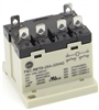 PBC-RETD-25A-220AC GENERAL PURPOSE RELAY TOP DIN MOUNT CONTACT FORM 25AMP 220V-COIL