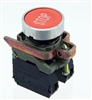 "PBC-XB4BA45-N-STOP PUSHBUTTON RED ""STOP""  MOMENTARY 1NO/1NC CURRENT STYLE"
