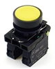 PBC-XB5AA51 REPLACEMENT FITS TELEMECANIQUE XB5AA51 22MM YELLOW PUSH BUTTON  MOMENTARY 1NO/1NC