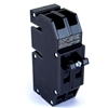 QC-20 (R) ZINSCO/SYLVANIA TYPE Q  2P 20A 240V PLUG IN CIRCUIT BREAKER  (RECONDITIONED CLEANED AND TESTED)