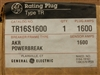 TR16S1600 GE AKR POWERBREAK 1600A RATING PLUG