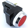 YC-30MOMF-R-11 30MM MOMENTARY FLUSH RED PUSH BUTTON 1NO 1NC
