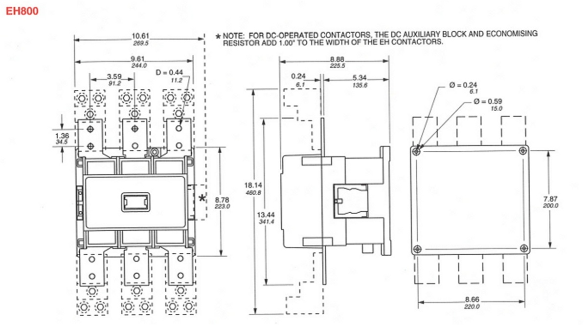 abb af09 contactor wiring diagram wiring libraryyuco yc cn eh800 2 cn eh800 120v magnetic contactor fits abb asea rh pioneerbreaker com abb contactor wiring diagram