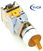 YC-SS22XPMA-I2Y-6 ILLUMINATED SELECTOR SWITCH