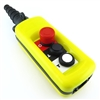 XAC A2913 HOIST CRANE PUSH BUTTON PENDANT STATION PB-XACA2913 REPLACEMENT 2 BUTTON TWO SPEED UP DOWN E-STOP CRANE HOIST Pendant Control Station PENDANT STATION ENCLOSURE XACA +OPTIONS.REPLACEMENT CONTACT BLOCKS PART NUMBER IS PBC-XENG1191