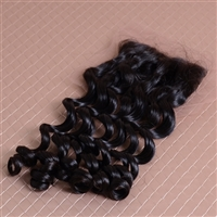 Eurasian Loose Wavy Silk Closure