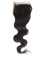 Brazilian Natural Wave Silk Closure