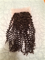 Eurasian Curly Silk Closure