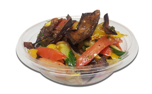 TK Marinated Eggplant Salad