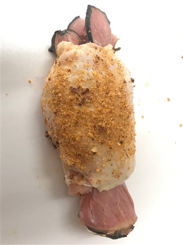 Pastrami Stuffed CHICKEN THIGHS