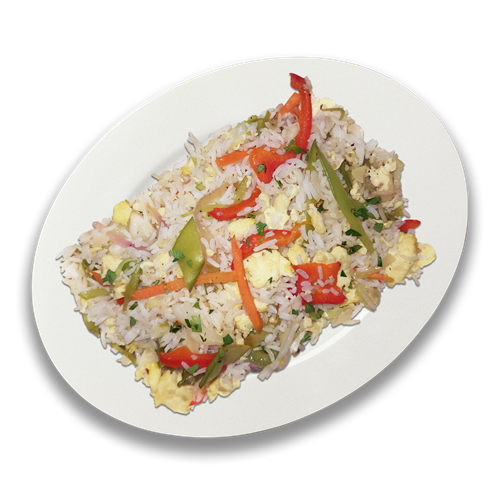 TK  Stir-Fry Vegetable and Rice