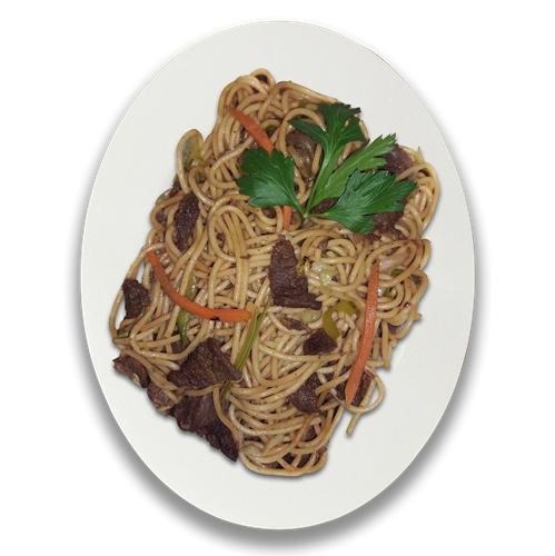 TK Beef Stir-fry with Asian Noodles