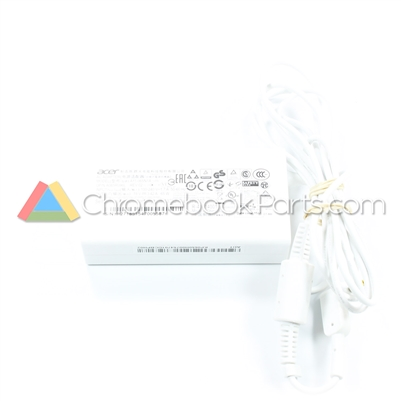 Acer 11 C720P Chromebook AC Power Adapter, White - KP.0650H.007