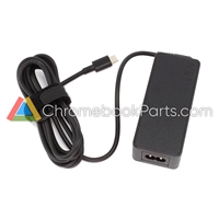 Lenovo 11 100e Gen 2 Chromebook AC Power Adapter - ADLX45YDC2D, 02DL105