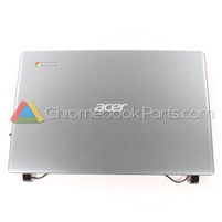 Acer 11 C710 Chromebook LCD Back Cover - 60.SH7N2.003