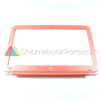 HP 14 Q-Series Chromebook Bezel, Peach Coral - 740150-001
