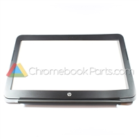 HP 14 SMB Chromebook LCD Bezel, Black - 769726-001