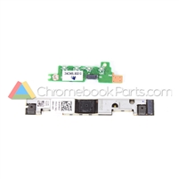Dell 11 3120 Chromebook Camera and LED Board Set - 0F9KGF