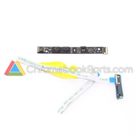 Samsung 11 XE303C12 Chromebook Camera Board, Cable, and Connector Set