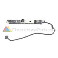 Asus 11 C213SA Chromebook Palmrest Camera Cable and Board - 04081-0015600017301