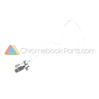HP 11 X360 G1 EE Palmrest Camera Board and Cable - D0G2204