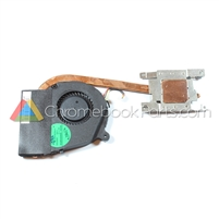 Acer 11 C710 Chromebook Heatsink and Cooling Fan - 23.SGYN2.001