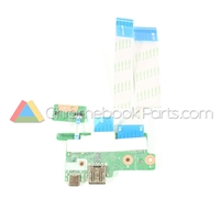 HP 14 G5 Chromebook USB Daughterboard and Sensor Board Set - L14358-001