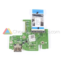 Dell 11 Chromebook 2 (3120) USB DAUGHTER BOARD - M90DT