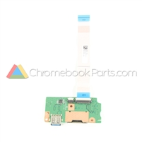 Acer 15 CB3-532 Chromebook USB Daughterboard - 55.GHJN7.001