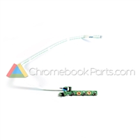 Asus 10 C100PA Chromebook Power Button Board - 60NL0970-IO1040