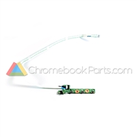 Asus 10 C101PA Chromebook Power Button Board - 60NL0970-IO1040