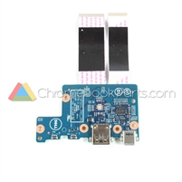 Dell 11 5190 Chromebook I/O USB Daughterboard - R0DX9