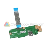 Asus 13 C300MA Chromebook USB Daughterboard - 320C81B0020