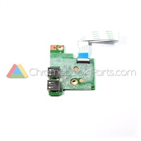 HP 14 AK-Series Chromebook USB Daughterboard - 830873-001