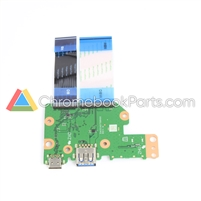 Acer 11 C721-25AS Chromebook USB I/O Daughterboard - 55.HBNN7.001
