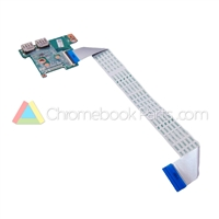 HP 14 G3 Chromebook USB Daughterboard - 787714-001