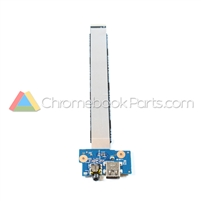 HP 11 G5 Chromebook USB I/O Board - 900816-001