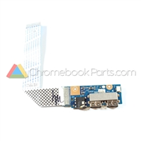 Acer 11 C710 Chromebook USB Audio Board - 55.SGYN2.002