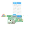 HP 11 G6 EE (Intel) Chromebook USB Daughterboard - L14923-001